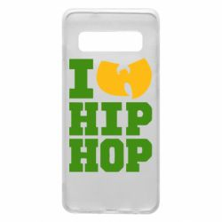 Чехол для Samsung S10 I love Hip-hop Wu-Tang