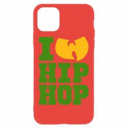 Чехол для iPhone 11 I love Hip-hop Wu-Tang