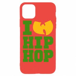 Чехол для iPhone 11 Pro I love Hip-hop Wu-Tang