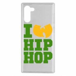 Чехол для Samsung Note 10 I love Hip-hop Wu-Tang