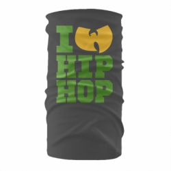 Бандана-труба I love Hip-hop Wu-Tang