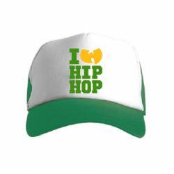 Дитяча кепка-тракер I love Hip-hop Wu-Tang
