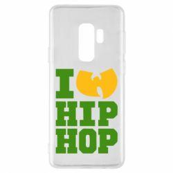 Чехол для Samsung S9+ I love Hip-hop Wu-Tang