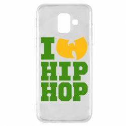 Чехол для Samsung A6 2018 I love Hip-hop Wu-Tang - FatLine