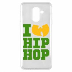 Чехол для Samsung A6+ 2018 I love Hip-hop Wu-Tang - FatLine