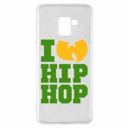 Чехол для Samsung A8+ 2018 I love Hip-hop Wu-Tang - FatLine