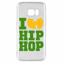 Чехол для Samsung S7 I love Hip-hop Wu-Tang - FatLine