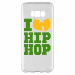 Чехол для Samsung S8+ I love Hip-hop Wu-Tang - FatLine