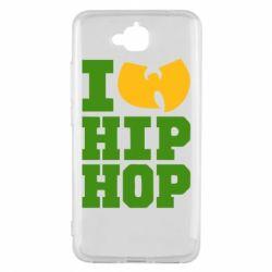 Чехол для Huawei Y6 Pro I love Hip-hop Wu-Tang - FatLine