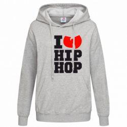 Женская толстовка I love Hip-hop Wu-Tang - FatLine