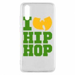 Чехол для Huawei P20 I love Hip-hop Wu-Tang - FatLine