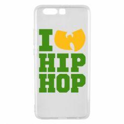 Чехол для Huawei P10 Plus I love Hip-hop Wu-Tang - FatLine