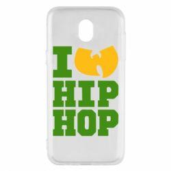 Чехол для Samsung J5 2017 I love Hip-hop Wu-Tang - FatLine