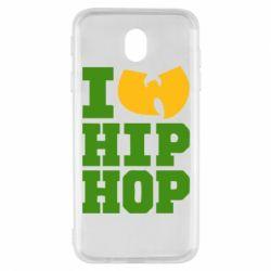 Чехол для Samsung J7 2017 I love Hip-hop Wu-Tang - FatLine