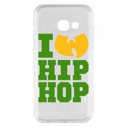 Чехол для Samsung A3 2017 I love Hip-hop Wu-Tang - FatLine