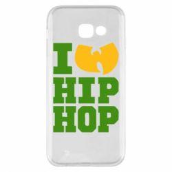 Чехол для Samsung A5 2017 I love Hip-hop Wu-Tang - FatLine