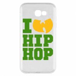 Чехол для Samsung A7 2017 I love Hip-hop Wu-Tang - FatLine