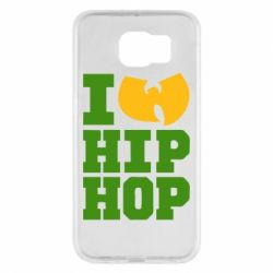 Чехол для Samsung S6 I love Hip-hop Wu-Tang - FatLine