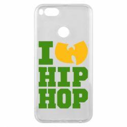 Чехол для Xiaomi Mi A1 I love Hip-hop Wu-Tang - FatLine