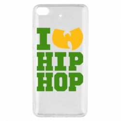 Чехол для Xiaomi Mi 5s I love Hip-hop Wu-Tang - FatLine