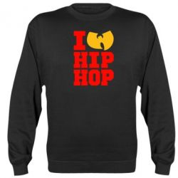 Реглан (свитшот) I love Hip-hop Wu-Tang - FatLine