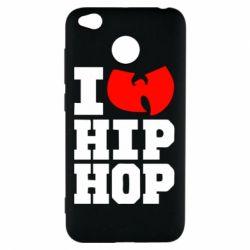 Чехол для Xiaomi Redmi 4x I love Hip-hop Wu-Tang - FatLine