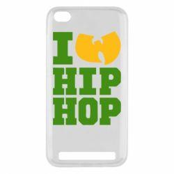 Чехол для Xiaomi Redmi 5a I love Hip-hop Wu-Tang - FatLine
