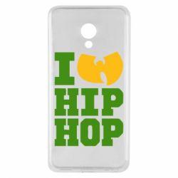 Чехол для Meizu M5 I love Hip-hop Wu-Tang - FatLine