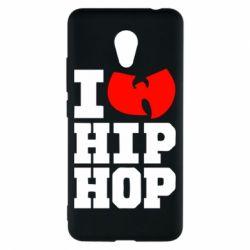 Чехол для Meizu M5c I love Hip-hop Wu-Tang - FatLine