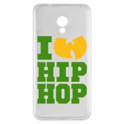Чехол для Meizu M5s I love Hip-hop Wu-Tang - FatLine