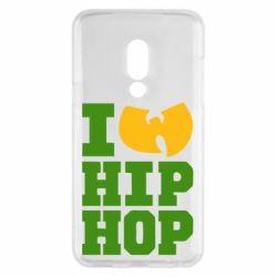 Чехол для Meizu 15 I love Hip-hop Wu-Tang - FatLine