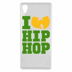 Чехол для Sony Xperia X I love Hip-hop Wu-Tang - FatLine