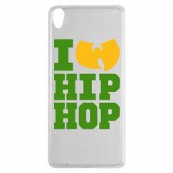 Чехол для Sony Xperia XA I love Hip-hop Wu-Tang - FatLine