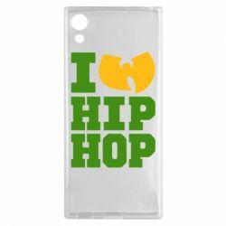 Чехол для Sony Xperia XA1 I love Hip-hop Wu-Tang - FatLine