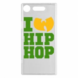 Чехол для Sony Xperia XZ1 I love Hip-hop Wu-Tang - FatLine