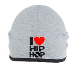 Шапка I love hip-hop - FatLine