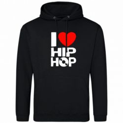 Толстовка I love hip-hop - FatLine