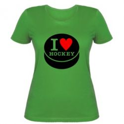 Женская I love hockey - FatLine