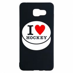 Чохол для Samsung A5 2016 I love hockey