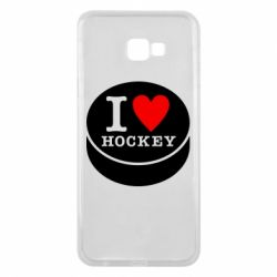Чохол для Samsung J4 Plus 2018 I love hockey