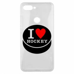 Чохол для Xiaomi Mi8 Lite I love hockey
