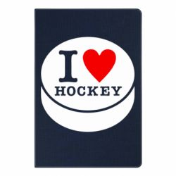 Блокнот А5 I love hockey