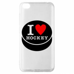 Чохол для Xiaomi Redmi Go I love hockey