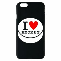 Чохол для iPhone 6/6S I love hockey
