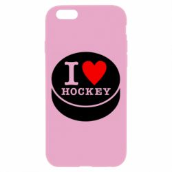 Чохол для iPhone 6 Plus/6S Plus I love hockey
