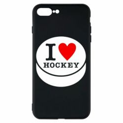 Чохол для iPhone 7 Plus I love hockey