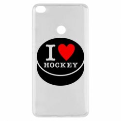 Чохол для Xiaomi Mi Max 2 I love hockey