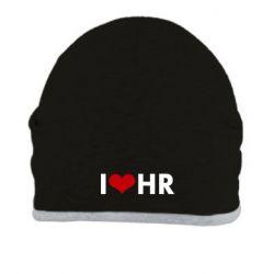 Шапка I love HR