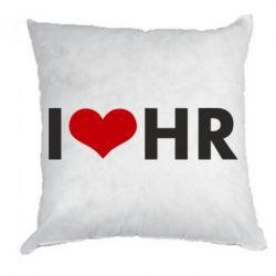 Подушка I love HR