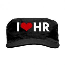 Кепка милитари I love HR